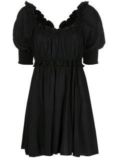 Misa Los Angeles платье мини Ara с оборками