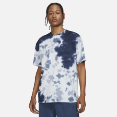 Мужская футболка с принтом тай-дай Nike Sportswear Premium Essentials - Синий