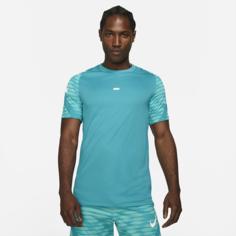 Мужская игровая футболка с коротким рукавом Nike Dri-FIT Strike - Синий