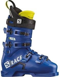 Ботинки горнолыжные Salomon 19-20 S/Race 110 Race Blue F04/Acid Green - 28,5 см