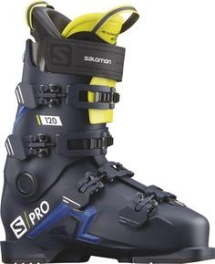Ботинки горнолыжные Salomon 19-20 S/Pro 120 Petrol Blue/Race Blue - 27,0/27,5 см