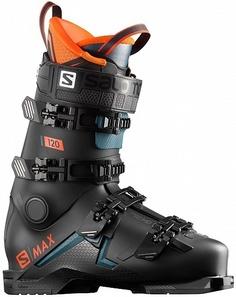 Ботинки горнолыжные Salomon 19-20 S/Max 120 Black - 28,0/28,5 см