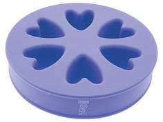 Миска силиконовая 2-х сторонняя ZooOne Purple 21016
