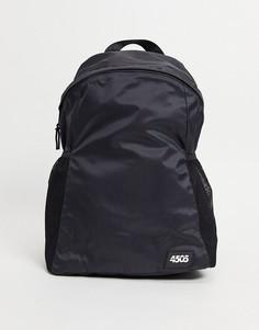Спортивная сумка из легкой водонепроницаемой ткани ASOS 4505-Черный цвет