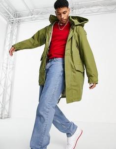 Парка-куртка Tommy Hilfiger-Зеленый цвет