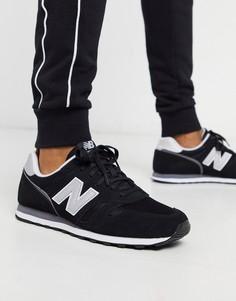 Черные кроссовки New Balance 373-Черный цвет