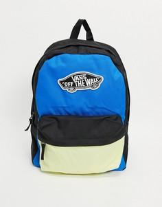 Рюкзак насыщенного синего цвета Vans Sporty Realm Plus-Темно-синий