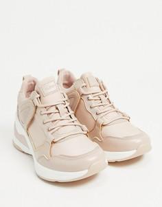 Розовые массивные кроссовки ALDO Vany-Розовый цвет