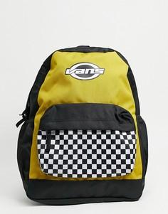 Рюкзак цвета оливкового масла Vans Sporty Realm Plus-Зеленый цвет