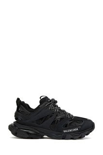 Черные комбинированные кроссовки Balenciaga