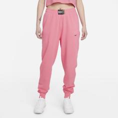 Женские брюки с эффектом выцветания Nike Sportswear - Розовый