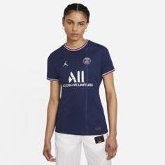 Женское футбольное джерси из домашней формы ФК «Пари Сен-Жермен» 2021/22 Stadium - Синий Nike