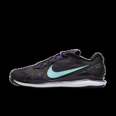 Женские теннисные кроссовки для игры на грунтовых кортах NikeCourt Air Zoom Vapor Pro - Пурпурный