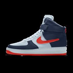 Кроссовки с индивидуальным дизайном Nike Air Force 1/1 Unlocked By You - Синий