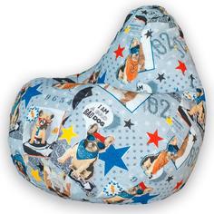 Кресло мешок Dreambag Саманта Бульдоги XL 125x85 см