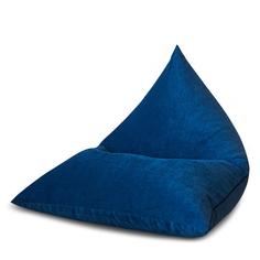 Кресло Dreambag Келли синий микро вельвет 110x115 см