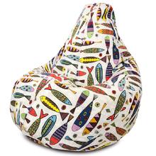 Кресло мешок Dreambag Миранда Рыбки XL 125x85 см