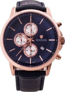 Швейцарские мужские часы в коллекции Bach Мужские часы Wainer WA.12948-B