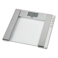 Напольные весы AEG PW 4923, до 150кг, цвет: серый [pw 4923 glas]