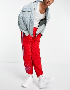 Красные спортивные штаны adidas Originals FTO-Красный