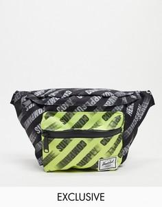 Черная сумка с ремешком через плечо Herschel Supply Co. Exclusive Seventeen-Черный