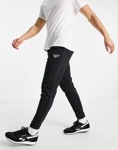 Черные флисовые джоггеры Reebok Training Essential-Черный цвет