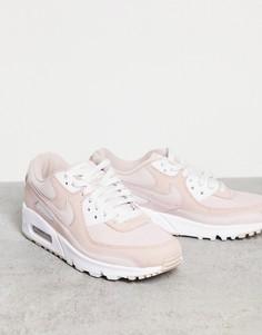 Кроссовки розового цвета Nike Air Max 90-Розовый цвет