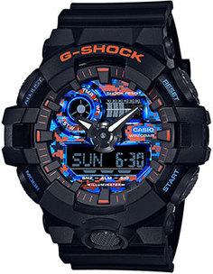 Японские наручные мужские часы Casio GA-700CT-1AER. Коллекция G-Shock