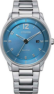 Японские наручные мужские часы Citizen BM7400-71L. Коллекция Eco-Drive