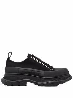 Alexander McQueen кроссовки Tread Slick из канваса