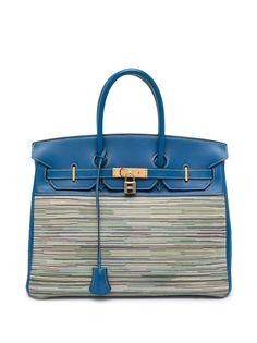 Hermès сумка Birkin 35 Vibrato 2002-го года Hermes