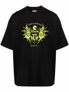 VETEMENTS футболка Pret-A-Porter с логотипом