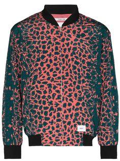 WTAPS бомбер с леопардовым принтом (W)Taps
