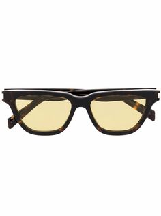 Saint Laurent Eyewear солнцезащитные очки SL462 Sulpice в D-образной оправе