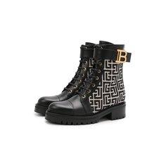 Комбинированные ботинки Ranger Romy Balmain