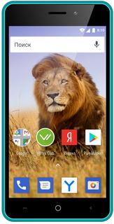 Смартфон Vertex Impress Lion 3G Dual Cam (синий)
