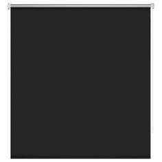 Рулонные шторы Decofest Плайн тёмно-серые 120х160 см