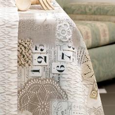 Скатерть на стол Di Milano Селтик бежевая 140х270 см