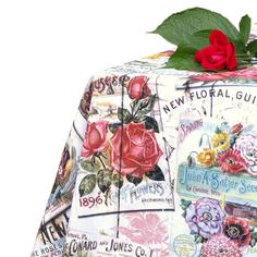 Скатерть на стол Di Milano Гарден разноцветная 140х270 см
