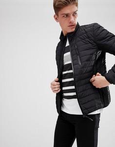 Черная пуховая куртка Esprit-Черный