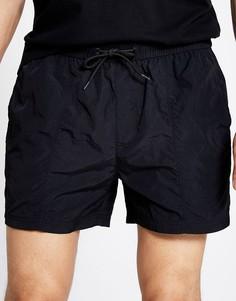 Черные шорты для плавания River Island-Черный цвет