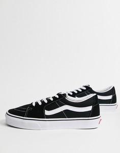 Черные низкие кроссовки Vans Sk8-Low-Черный цвет