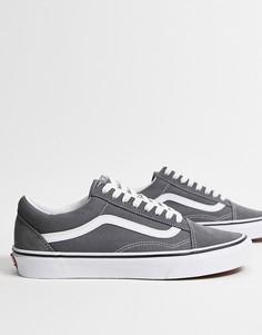 Серые кроссовки Vans Old Skool-Серый