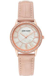 fashion наручные женские часы Anne Klein 3688RGBH. Коллекция Leather