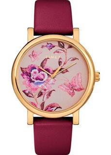 женские часы Timex TW2U19200YL. Коллекция Full Bloom