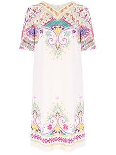 Платье из вискозы с принтом Etro