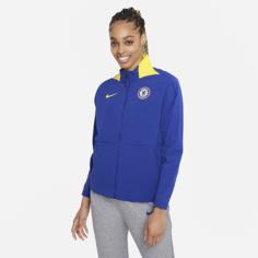 Женская футбольная куртка Chelsea FC - Синий Nike