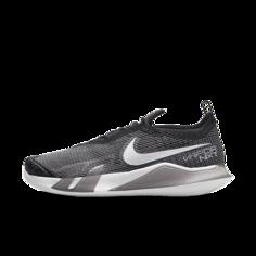 Мужские теннисные кроссовки для игры на грунтовых кортах NikeCourt React Vapor NXT - Черный