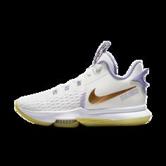 Баскетбольные кроссовки LeBron Witness 5 - Белый Nike