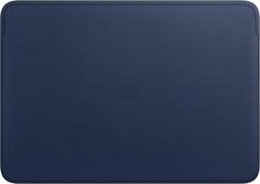 "Чехол для ноутбука Apple Leather Sleeve для MacBook Pro 16"" Midnight Blue (MWVC2ZM/A)"